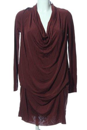 Allsaints Abendkleid lila Casual-Look