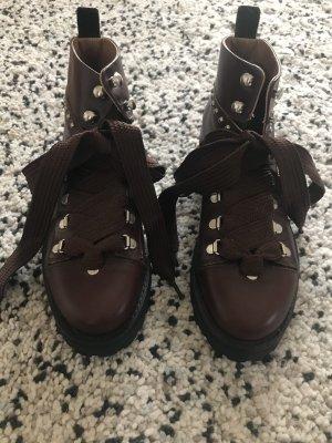 Allsaints Spitalfields Low boot brun rouge