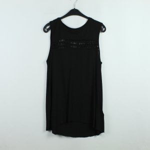 All Saints Mouwloze blouse zwart Viscose