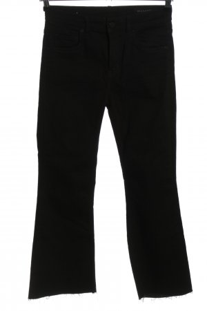 Allsaints Jeans bootcut noir style décontracté