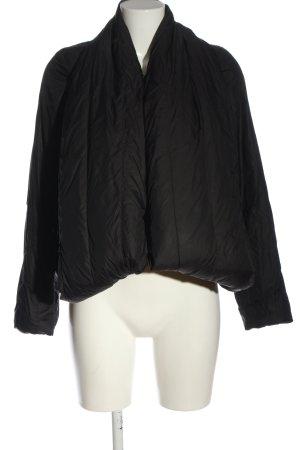 Allsaints Kurtka puchowa czarny Pikowany wzór W stylu casual