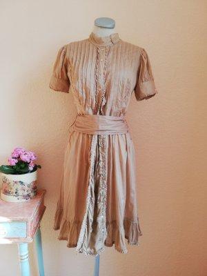 Allsaints Koszulowa sukienka Wielokolorowy