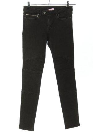Allsaints Jeansy biodrówki czarny W stylu casual