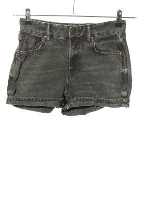 Allsaints Jeansowe szorty jasnoszary W stylu casual