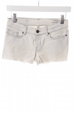 All Saints Jeansshorts grau