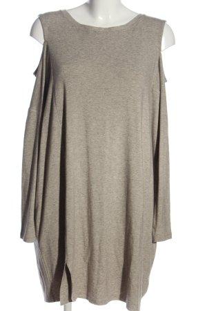 Allsaints Sukienka z dżerseju brązowy-w kolorze białej wełny Melanżowy