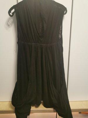 Allsaints Spitalfields Robe en jersey noir