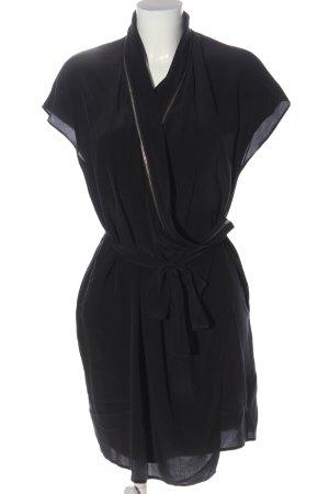 Allsaints Kurzarmkleid schwarz Elegant