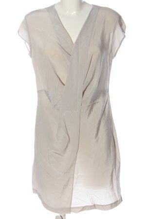 Allsaints Sukienka z krótkim rękawem w kolorze białej wełny Elegancki