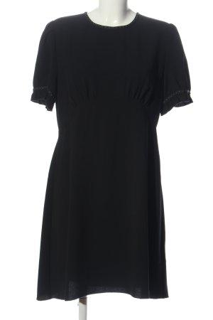Allsaints Sukienka z krótkim rękawem czarny W stylu casual