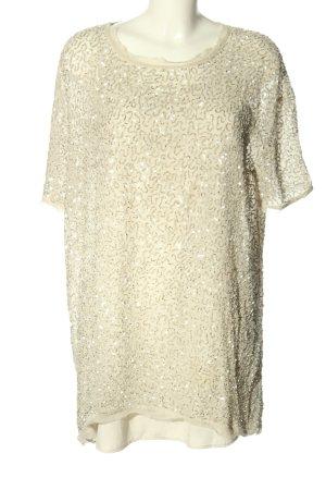 Allsaints Długa bluzka w kolorze białej wełny Elegancki