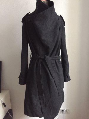 All Saints Wool Coat anthracite-dark grey