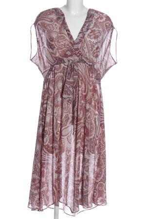 Allsaints Sukienka midi Na całej powierzchni Błyszczący