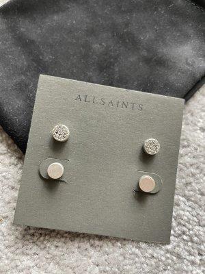 Allsaints Zarcillo color plata
