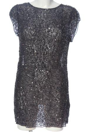 Allsaints Cekinowa sukienka jasnoszary Błyszczący