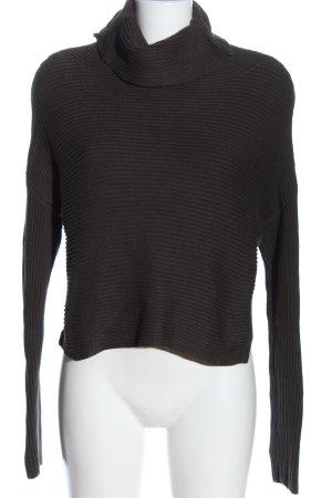 Allsaints Sweter z golfem jasnoszary W stylu casual