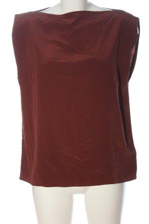 Allsaints Jedwabna bluzka czerwony Melanżowy W stylu casual