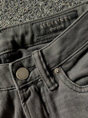 All Saints Jeans skinny antracite-grigio scuro