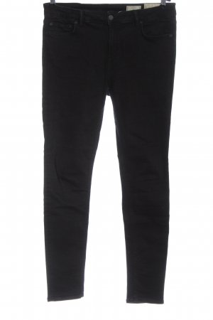 Allsaints Jeansy o obcisłym kroju czarny W stylu casual