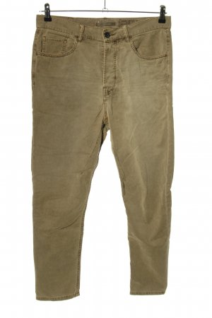 Allsaints Spitalfields Pantalone cinque tasche cachi stile casual
