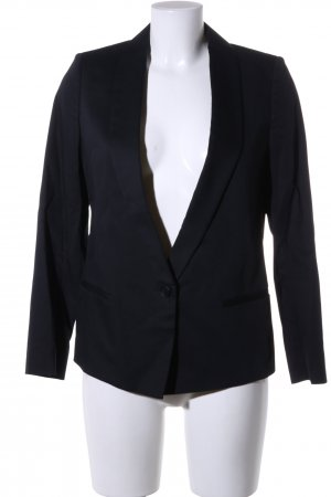 Allsaints Spitalfields Long-Blazer schwarz Business-Look
