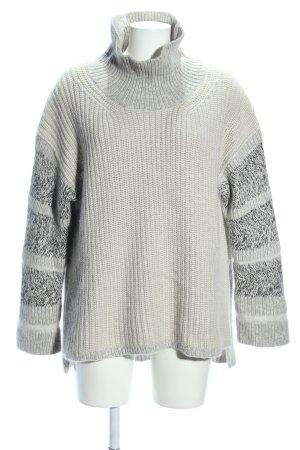 Allsaints Spitalfields Oversized Pullover hellgrau meliert Casual-Look