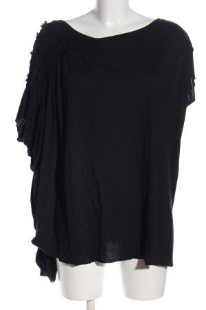 Allsaints Koszulka oversize czarny W stylu casual