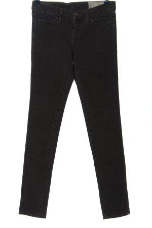 Allsaints Spitalfields Jeans a sigaretta nero stile casual