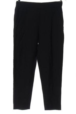 Allsaints Spodnie materiałowe czarny Wzór w paski W stylu casual