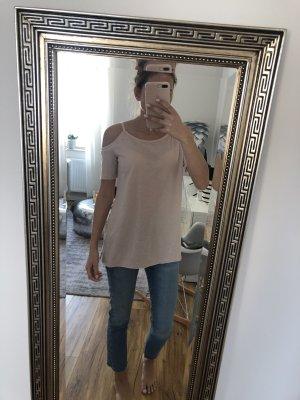 Allsaints Spitalfields T-shirt rosa antico