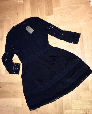 All Saints Mini vestido negro