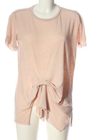 Allsaints T-shirt nude W stylu casual