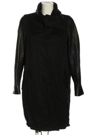 Allsaints Płaszcz przejściowy czarny W stylu casual