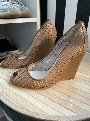 allsha Wedge Sandals beige