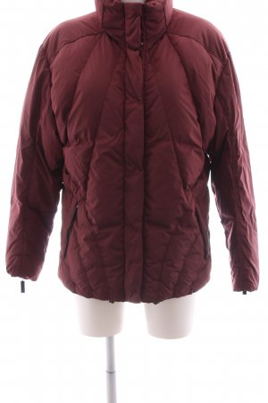 Allsport Daunenjacke rot Steppmuster Casual-Look