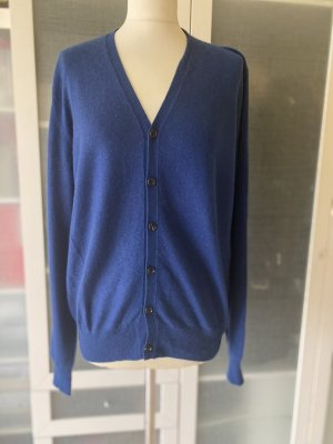 Allude Knitted Cardigan blue