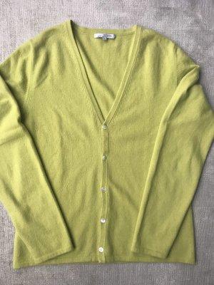 Allude Cashmere Jumper pale green