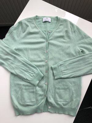 Allude Pullover in cashmere verde chiaro-menta