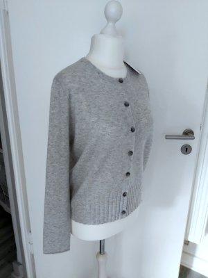 Allude Giacca di lana grigio chiaro