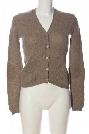 Allude Cardigan brown casual look