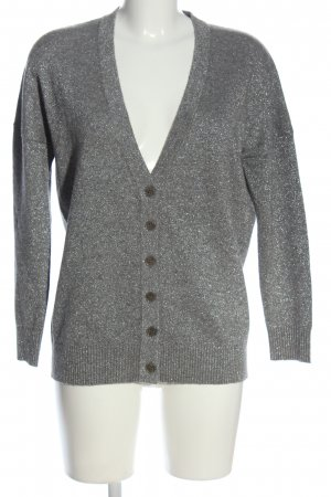 Allude Cardigan silver-colored casual look
