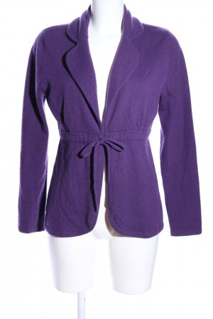 Allude Cardigan lilac casual look