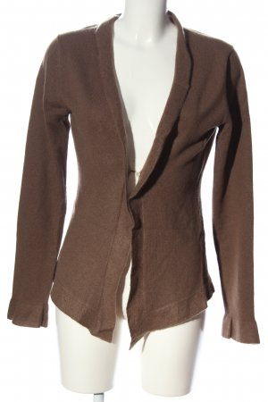 Allude Cardigan bruin casual uitstraling