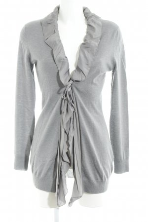 Allude Cardigan grau Street-Fashion-Look