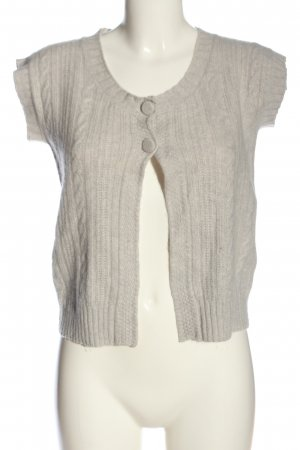 Allude Cardigan light grey casual look