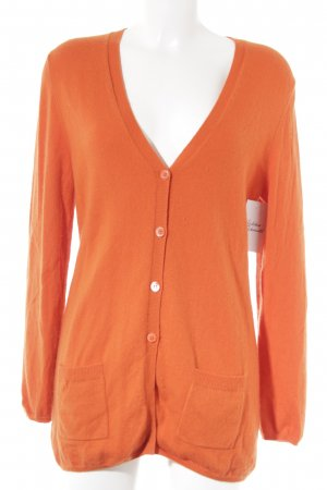 Allude Cardigan orange Casual-Look