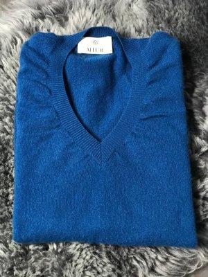 Allude Cashmere Jumper neon blue-blue cashmere
