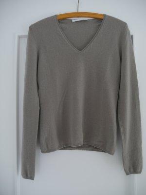 Allude Cashmere Jumper light grey cashmere