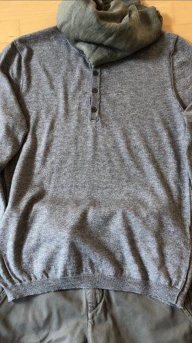 Allude Cashmere Pullover grau Gr M