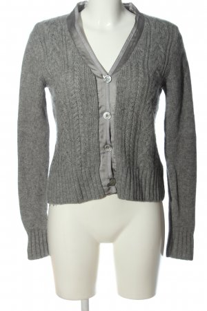 Allude Wool Sweater light grey cashmere